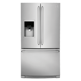 Counter-Depth French Door Refrigerator with Wave-Touch® Controls
