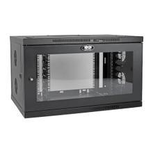 See Details - SmartRack 9U Low-Profile Switch-Depth-Plus Wall-Mount Mini Rack Enclosure, Wide, Acrylic Window