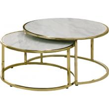 """See Details - Massimo Coffee Table - 43"""" W x 30.5"""" D x 16.5"""" H"""
