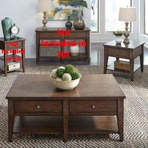 Liberty Furniture Industries - 3 Piece Set (1-Cocktail 2-End Tables)