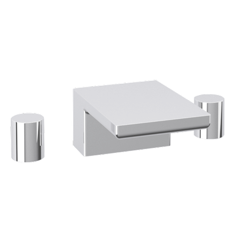 Otella 3-Hole Deck Mount Tub Filler R+S Chrome
