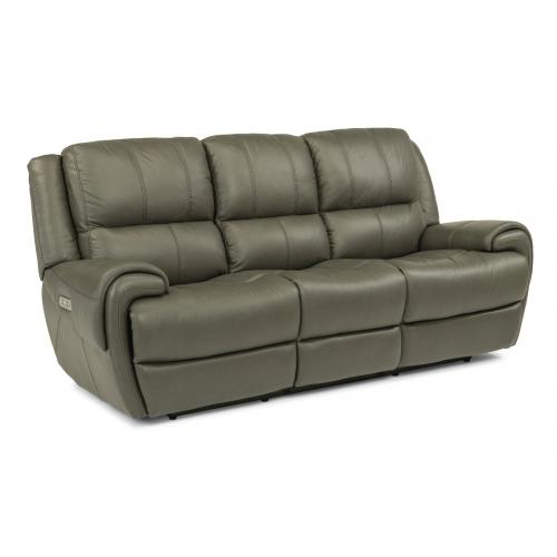 Nance Power Reclining Sofa with Power Headrests