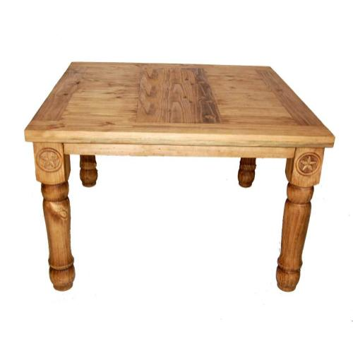 "48"" Square Table W/star Legs"