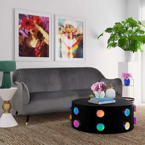 Product Image - Natalia Grey Velvet Sofa