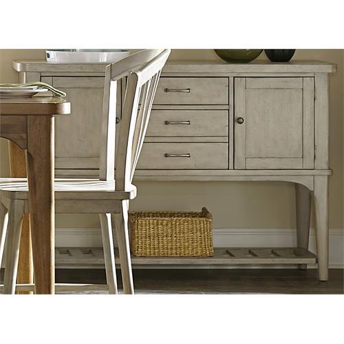 Liberty Furniture Industries - Server - Gray