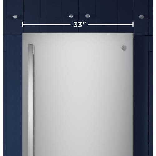 Product Image - GE® ENERGY STAR® 24.8 Cu. Ft. Bottom-Freezer Drawer Refrigerator