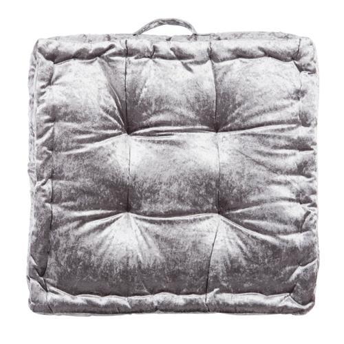 Peony Floor Pillow - Grey