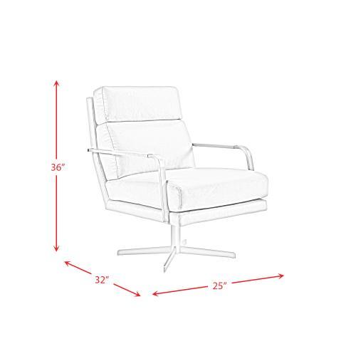 Elements - Kota Mid-Century Swivel Accent Chair