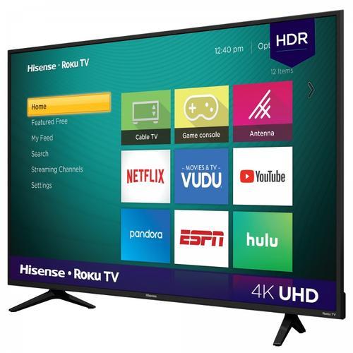 "55"" Class - R6070 Series - 4K UHD Smart Hisense Roku TV (2020) SUPPORT"
