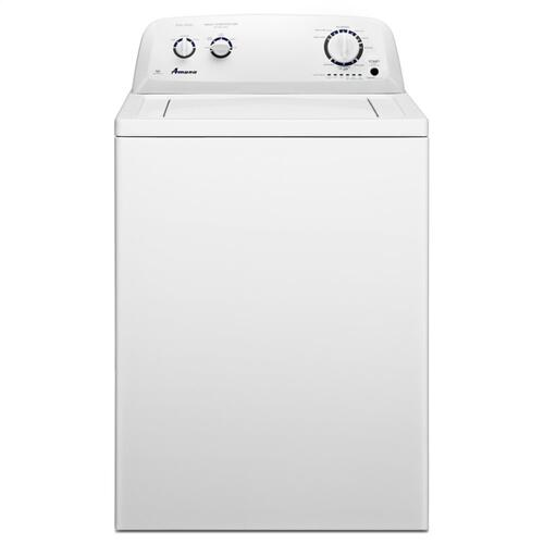 Amana® 4.1 cu. ft. I.E.C. High-Efficiency Top-Load Washer with Spreckled Porcelain Tub