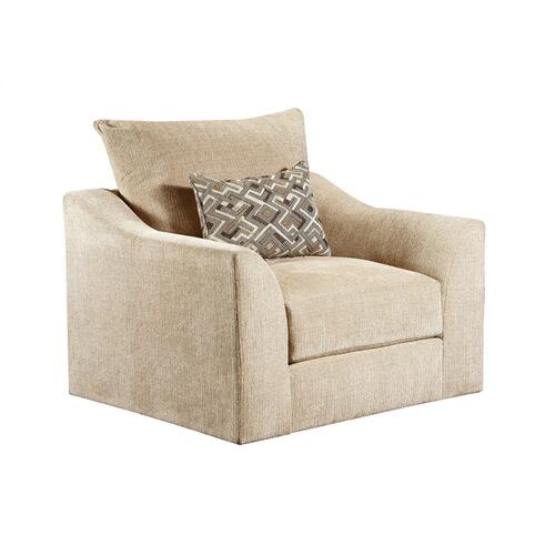 9915 Sophie Marble Accent Swivel Chair