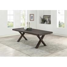 7811 Wire Brushed Dining Table