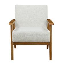 Mid-Century Wood Frame Chair