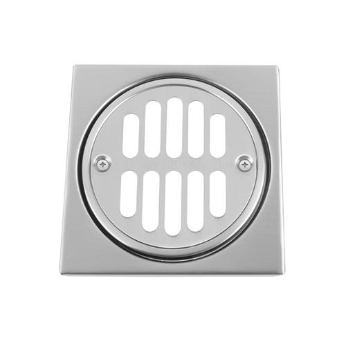 """Product Image - Jewelers Gold - Shower Drain Plate (4 1/4"""" Square)"""