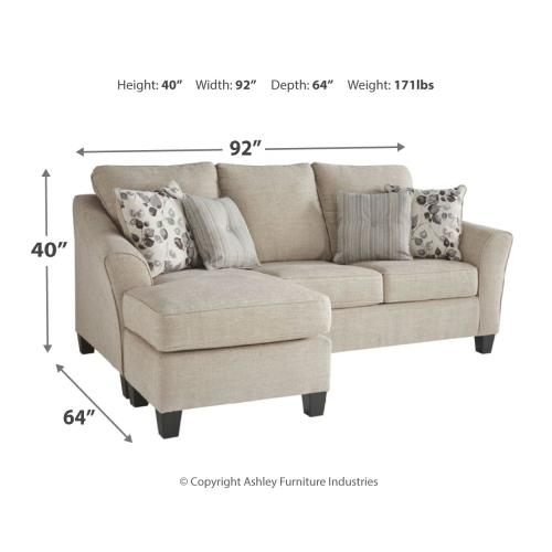 Abney Sofa Chaise Sleeper