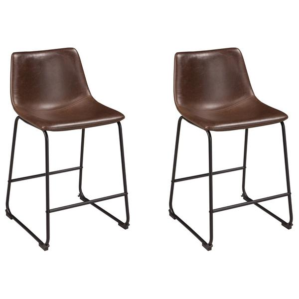 See Details - Centiar Counter Height Bar Stool (set of 3)