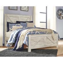 Bellaby Queen Crossbuck Panel Bed Whitewash