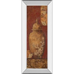 """Asian Nuvo I"" By Angela Ferrante Print in Mirrored Framed Print Wall Art"