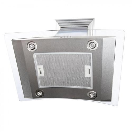 Zline Kitchen and Bath - ZLINE Island Mount Range Hood in DuraSnow® Stainless Steel & Glass (8GL14iS) [Size: 36 Inch]