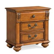 Barkley Square Nightstand Oak Product Image