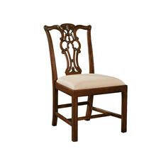 MASSACHUSETTS AGED REGENCY SIDE CHAIR