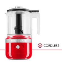 Cordless 5 Cup Food Chopper - Passion Red