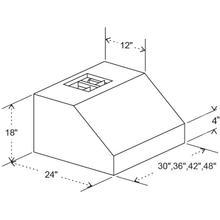 """See Details - ZLINE 30"""" Under Cabinet Range Hood (685-30)"""