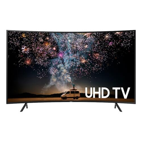 "Samsung - 65"" Class RU730D Curved Smart 4K UHD TV (2019)"