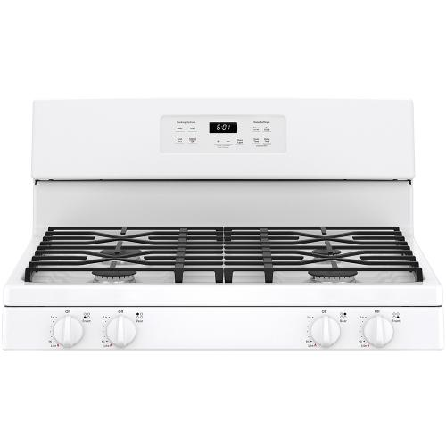 "GE 30"" Free-Standing Gas Range White - JCGBS61DPWW"