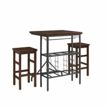 SIENNA 3PC DINING SET