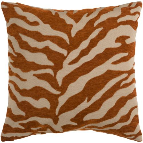 "Velvet Zebra JS-028 18"" x 18"" Pillow Shell Only"
