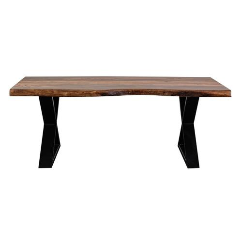 Manzanita Harvest Sheesham Coffee Table with Different Bases, VCS-CT48H