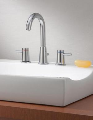 CONTEMPORARY Widespread Bathroom Faucet Product Image