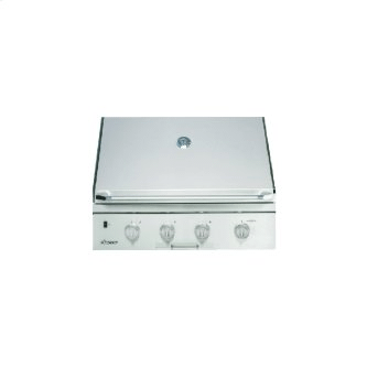 """36"""" Outdoor Grill, Stainless Steel, Natural Gas"""