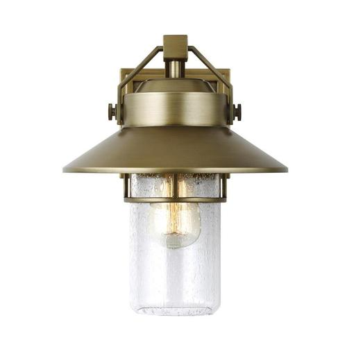 Boynton Medium Lantern Painted Distressed Brass