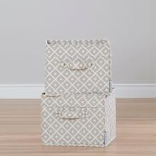 View Product - Storit - Basket, White and Beige