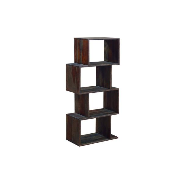 See Details - Fall River Obsidian 4 Tier Bookcase, HC4879S01