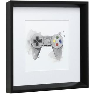 GAMER III  14in X 14in  Made in the USA  Framed Print Under Glass