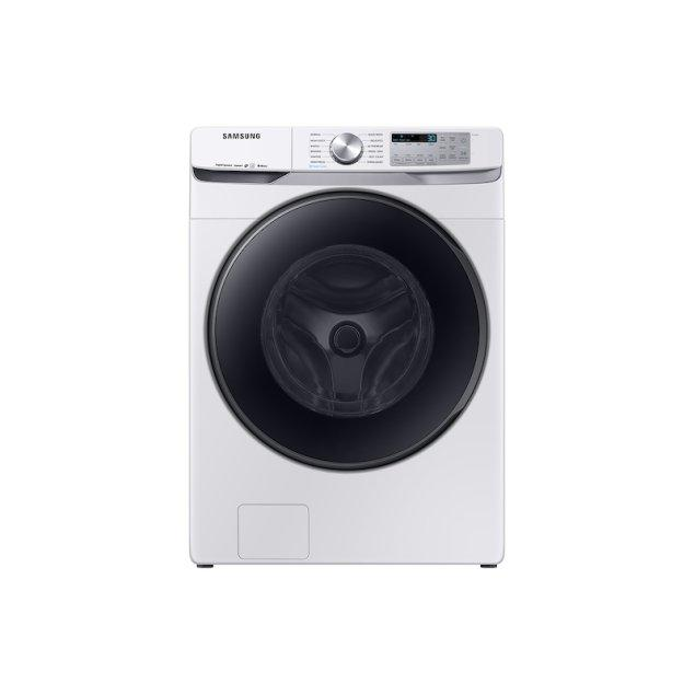Samsung Appliances 5.0 cu. ft. Smart Front Load Washer with Super Speed in White