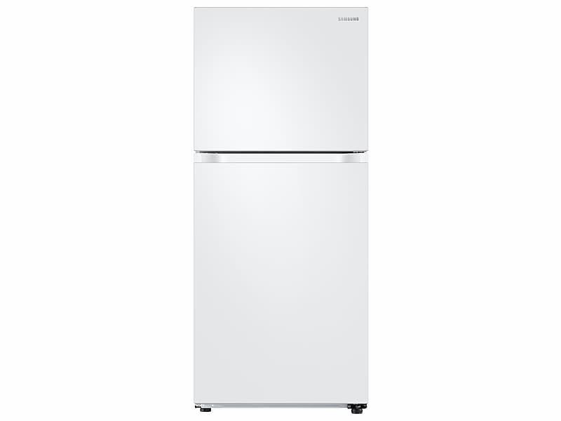Samsung18 Cu. Ft. Top Freezer Refrigerator With Flexzone™ In White