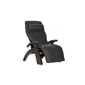 Perfect Chair ® PC-600 Silhouette - Dark Walnut - Gray Premium Leather