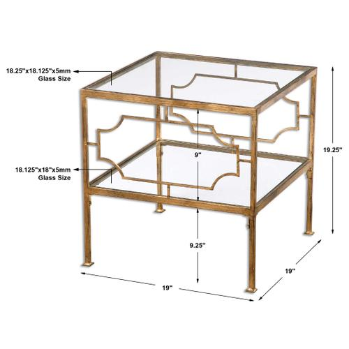 Genell Cube Table