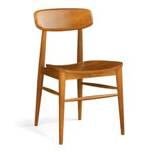View Product - Model 100 Side Chair Wood Seat