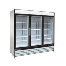 Maxx Cold X-Series Merchandiser Refrigerator with Glass Sliding Door (72 cu. Ft.)
