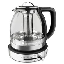 Glass Tea Kettle - Stainless Steel