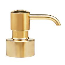 View Product - Pump Top - Polished Gold with Pump Top - Polished Gold