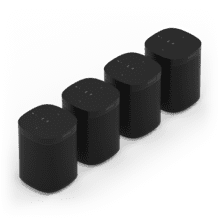 See Details - Black- A set of powerful smart speakers for rich sound in up to four rooms.
