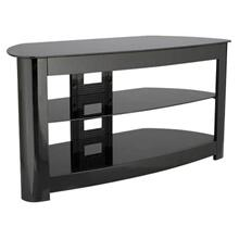 Media Console - Corner TV Stand for TVs up to 56""