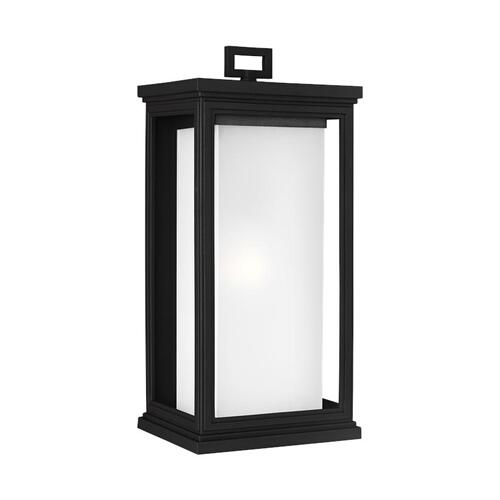Roscoe Large Lantern Textured Black