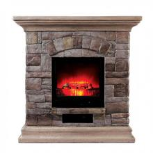 See Details - Large-size Juna Faux Stone Fireplace